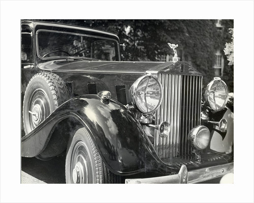Close-Up View Of A Rolls Royce by Corbis