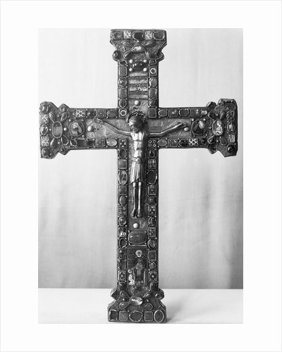 Medieval, Jewel-Encrusted Crucifix by Corbis