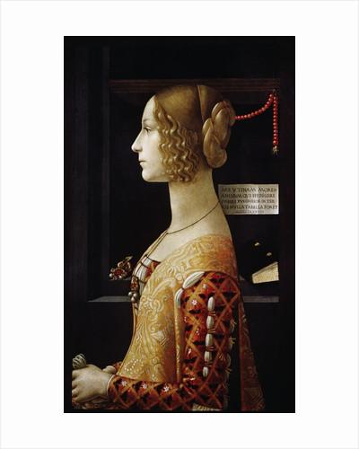 Giovanna Tornabuoni by Domenico Ghirlandaio