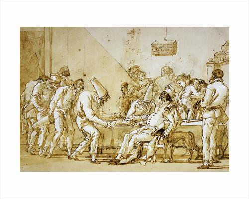 Clowns #89 by Giovanni Battista Tiepolo