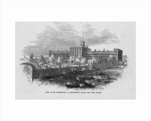 View of the Penitentiary at Blackwell's Island Illustration by Corbis