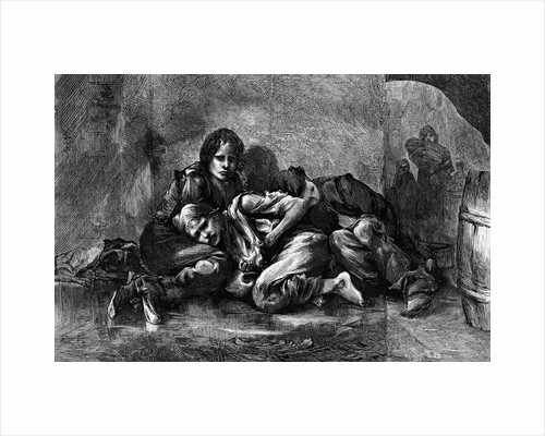Destitute Children by Corbis