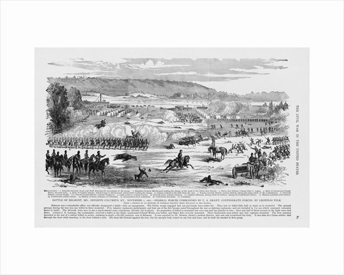 Battle at Belmont, Missouri by Corbis
