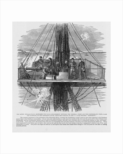 Sketching Naval Engagement by Corbis