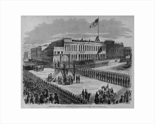 Execution of Brace and Hetherington, By the Vigilance Committee of San Francisco, Cal by Corbis