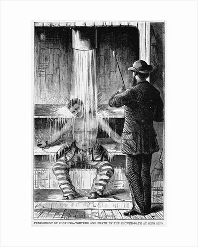 Punishments of Convicts - Torture and Death by the Shower-Bath at Sing Sing by Corbis