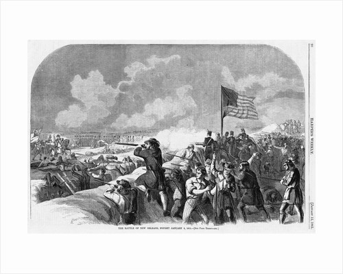 The Battle of New Orleans, Fought January 8, 1815 by Corbis