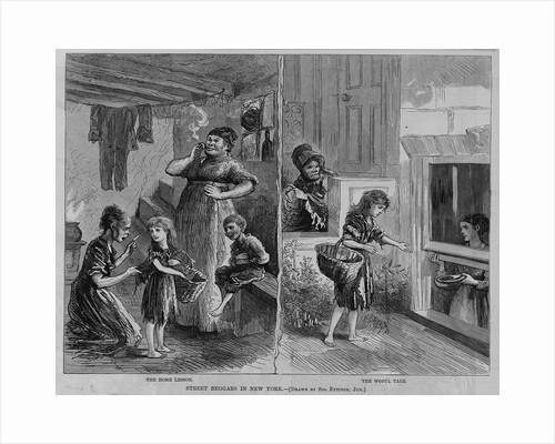 Street Beggars in New York by Corbis