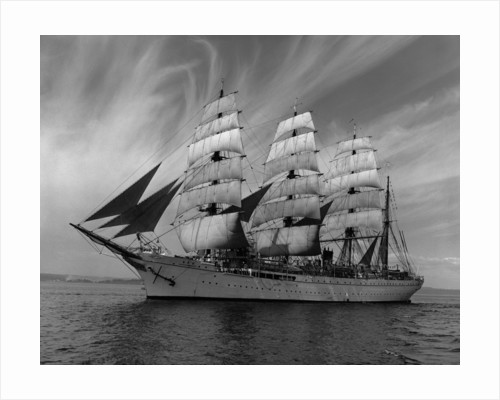 Sailing Ship Nippon Maru in Puget Sound by Corbis