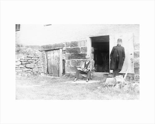 Guards Standing at Prison Door by Corbis