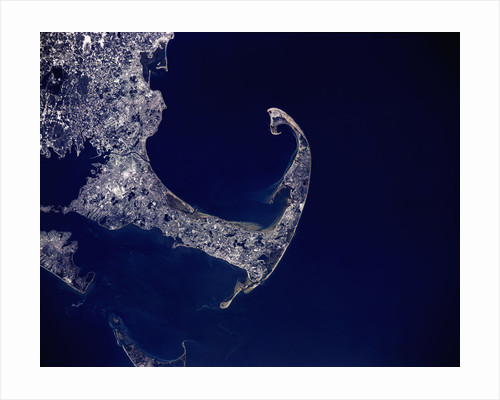 Cape Cod from Space by Corbis