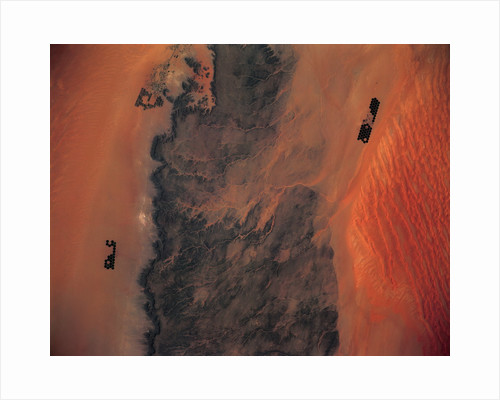 Libyan Desert from Space by Corbis