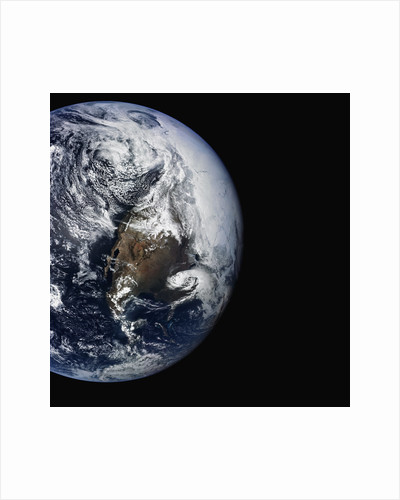 North America Seen From Space by Corbis
