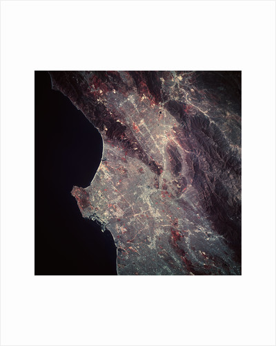 Los Angeles from Space by Corbis