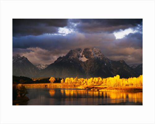 Mount Moran by Corbis