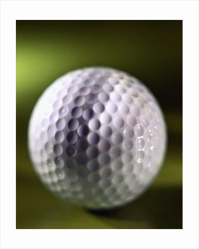 Close-up of Golf Ball by Corbis