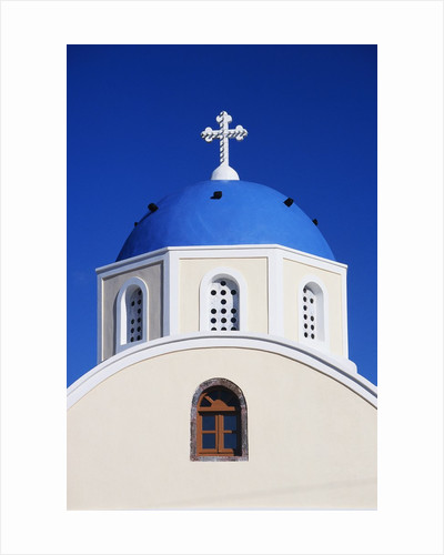 Close-Up View of a Greek Orthodox Church by Corbis