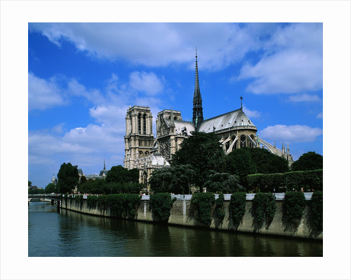 Cathedral of Notre Dame and the Seine by Corbis
