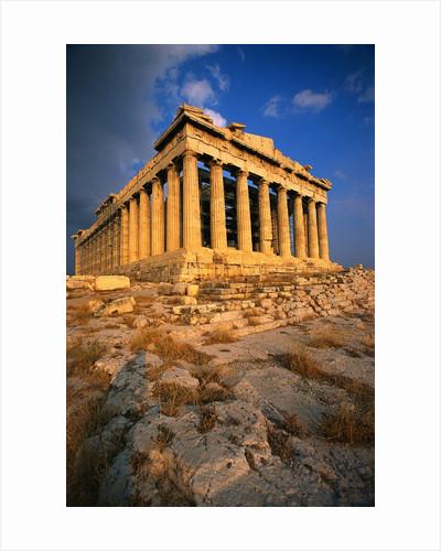 Exterior of the Parthenon by Corbis