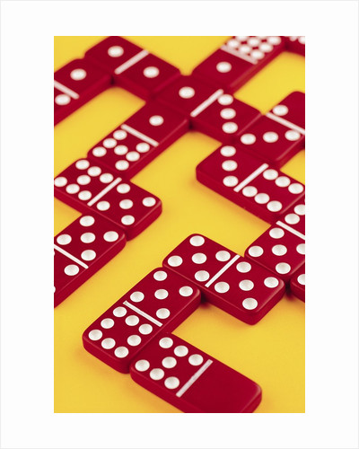 Domino Game by Corbis