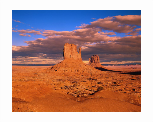 The Mittens at Monument Valley by Corbis