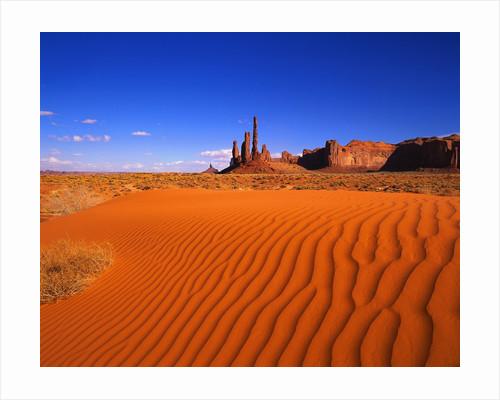 Sandy Landscape in Monument Valley by Corbis