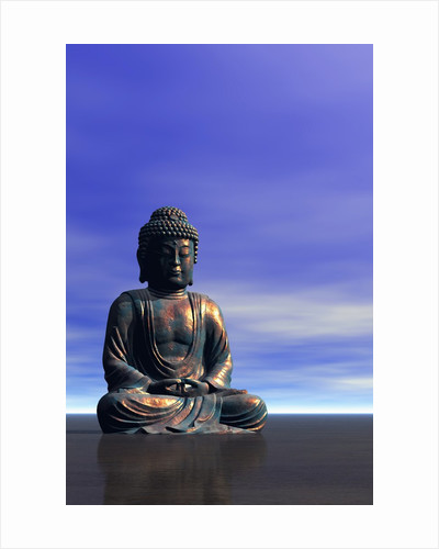Buddha Statue by Corbis
