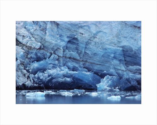 Ice Breaking off Glacier by Corbis