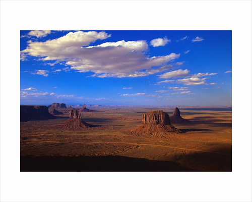 Aerial View of Monument Valley by Corbis