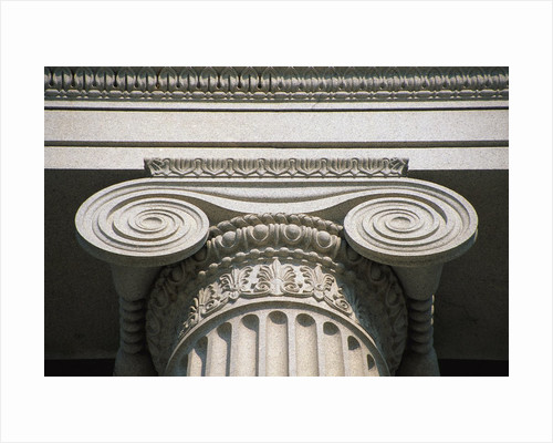 Close-up View of Column by Corbis