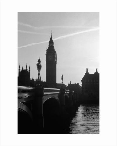 View of Big Ben from Across the Westminster Bridge by Corbis