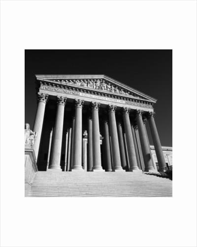 United States Supreme Court Exterior by Corbis