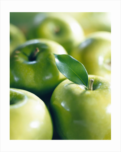 Bunch of Green Apples by Corbis