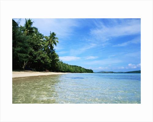 Tropical Coastline of Turtle Island by Corbis