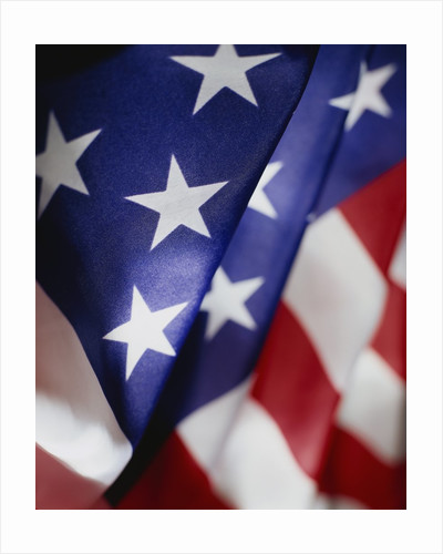 Close-up of American Flag by Corbis