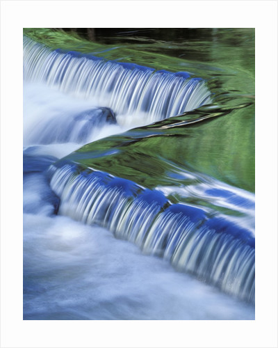 Tranquil Waterfall by Corbis