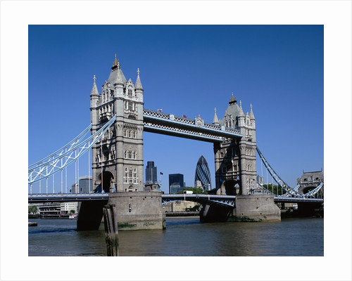Tower Bridge in London by Corbis