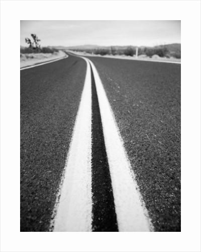 Open Road in Desert by Corbis