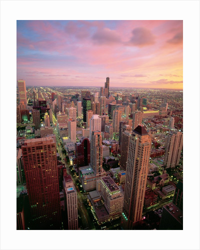 Downtown Chicago by Corbis