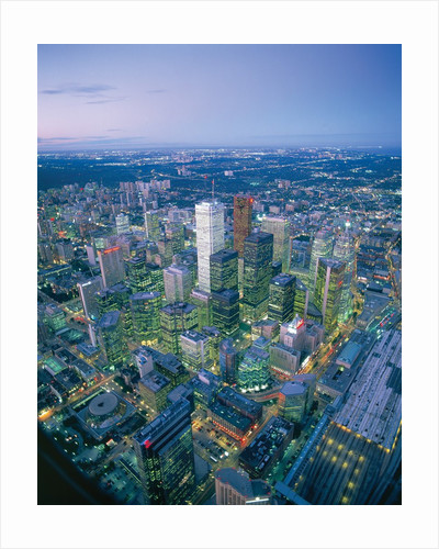 Downtown Toronto by Corbis