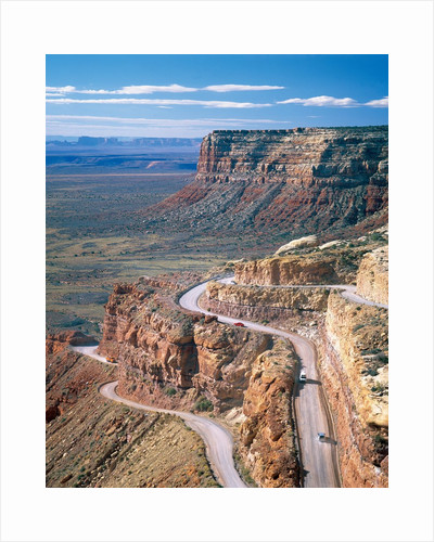 Road into Valley of the Gods by Corbis