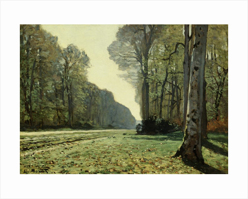 The Path of Chailly by Claude Monet