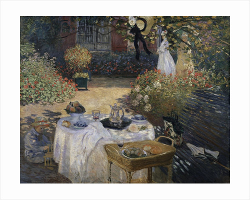 The Lunch by Claude Monet