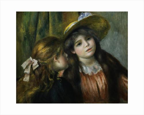 Portrait of Two Girls by Pierre Auguste Renoir
