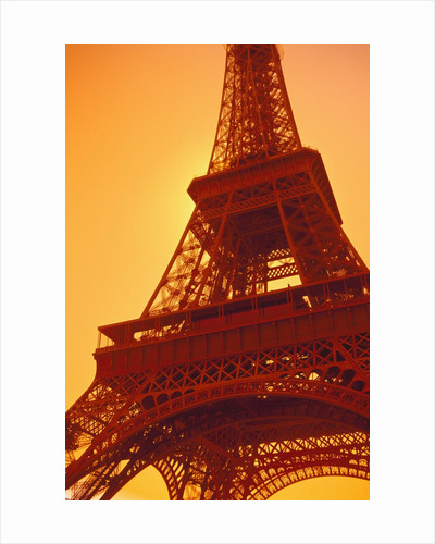 Eiffel Tower Against Sky by Corbis