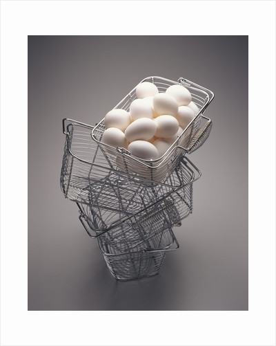 All Eggs in One Basket by Corbis
