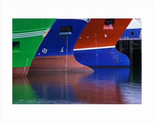 Hulls of Trawlers by Corbis