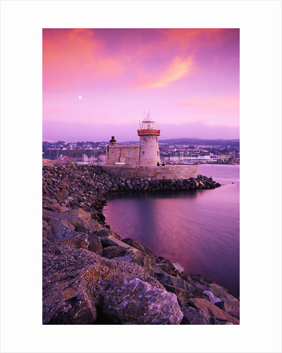 Howth Pier Lighthouse by Corbis