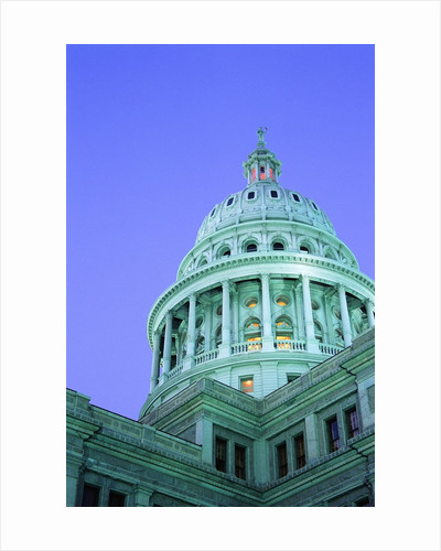 Texas State Capitol Dome at Dusk by Corbis