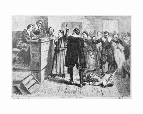 Witchcraft at Salem Village by Corbis